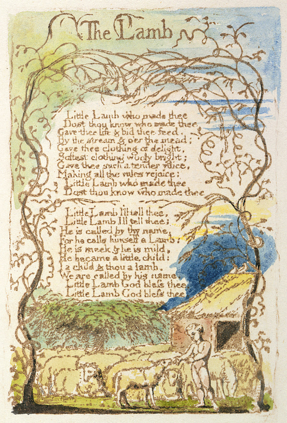 william blake writing style