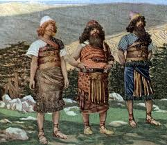 Noah's sons Shem, Japheth, and Ham