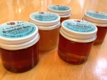 Sampler jars of Bloomfield Bees honey!