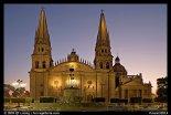 Cathedral at dawn. Guadalajara, Jalisco, Mexico